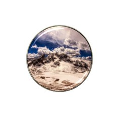 Italy Landscape Mountains Winter Hat Clip Ball Marker