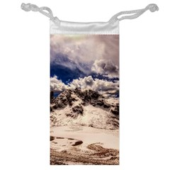 Italy Landscape Mountains Winter Jewelry Bag