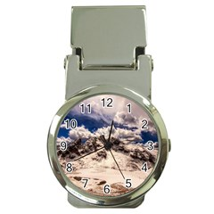 Italy Landscape Mountains Winter Money Clip Watches