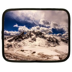 Italy Landscape Mountains Winter Netbook Case (large)