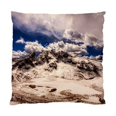 Italy Landscape Mountains Winter Standard Cushion Case (two Sides)