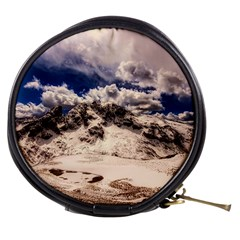 Italy Landscape Mountains Winter Mini Makeup Bags