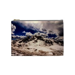 Italy Landscape Mountains Winter Cosmetic Bag (medium)