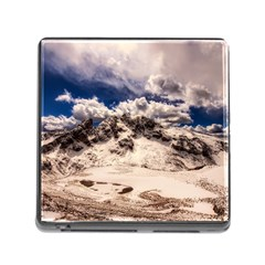 Italy Landscape Mountains Winter Memory Card Reader (square)