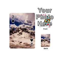 Italy Landscape Mountains Winter Playing Cards 54 (mini)
