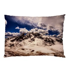 Italy Landscape Mountains Winter Pillow Case (two Sides)