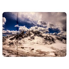 Italy Landscape Mountains Winter Samsung Galaxy Tab 8 9  P7300 Flip Case