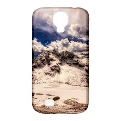 Italy Landscape Mountains Winter Samsung Galaxy S4 Classic Hardshell Case (pc+silicone)