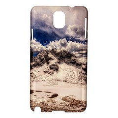 Italy Landscape Mountains Winter Samsung Galaxy Note 3 N9005 Hardshell Case