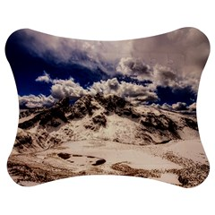 Italy Landscape Mountains Winter Jigsaw Puzzle Photo Stand (bow)