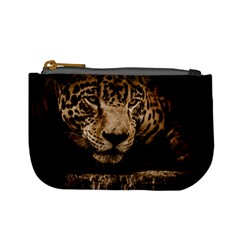 Jaguar Water Stalking Eyes Mini Coin Purses