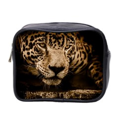 Jaguar Water Stalking Eyes Mini Toiletries Bag 2 Side