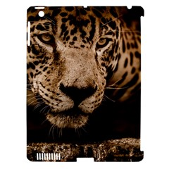 Jaguar Water Stalking Eyes Apple Ipad 3/4 Hardshell Case (compatible With Smart Cover)