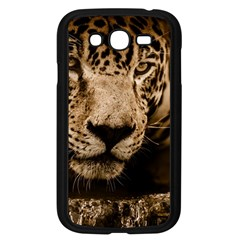 Jaguar Water Stalking Eyes Samsung Galaxy Grand Duos I9082 Case (black)