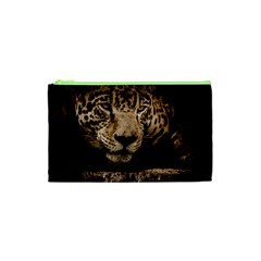 Jaguar Water Stalking Eyes Cosmetic Bag (xs)