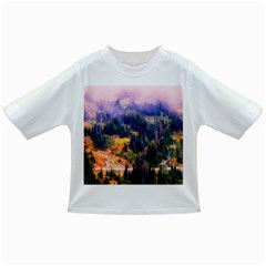 Landscape Fog Mist Haze Forest Infant/toddler T Shirts