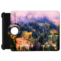 Landscape Fog Mist Haze Forest Kindle Fire Hd 7