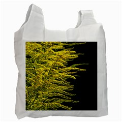 Golden Rod Gold Diamond Recycle Bag (one Side)