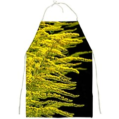 Golden Rod Gold Diamond Full Print Aprons