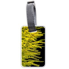 Golden Rod Gold Diamond Luggage Tags (one Side)