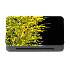 Golden Rod Gold Diamond Memory Card Reader With Cf