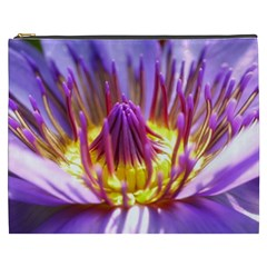 Flower Blossom Bloom Nature Cosmetic Bag (xxxl)