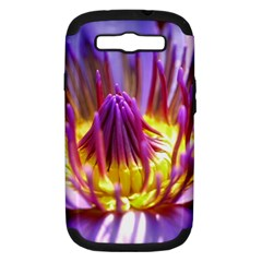 Flower Blossom Bloom Nature Samsung Galaxy S Iii Hardshell Case (pc+silicone)