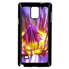 Flower Blossom Bloom Nature Samsung Galaxy Note 4 Case (black)