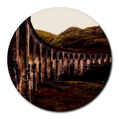 Viaduct Structure Landmark Historic Round Mousepads