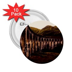 Viaduct Structure Landmark Historic 2 25  Buttons (10 Pack)