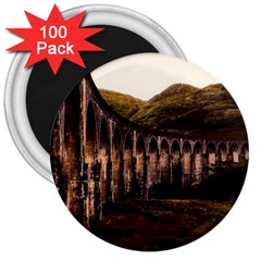 Viaduct Structure Landmark Historic 3  Magnets (100 Pack)