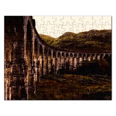 Viaduct Structure Landmark Historic Rectangular Jigsaw Puzzl