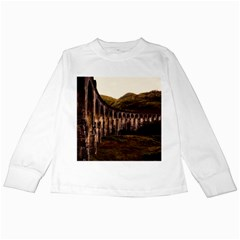 Viaduct Structure Landmark Historic Kids Long Sleeve T Shirts