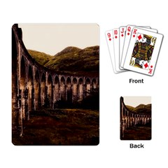 Viaduct Structure Landmark Historic Playing Card