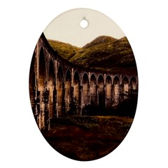 Viaduct Structure Landmark Historic Oval Ornament (two Sides)