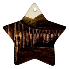 Viaduct Structure Landmark Historic Star Ornament (two Sides)