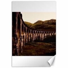Viaduct Structure Landmark Historic Canvas 24  X 36