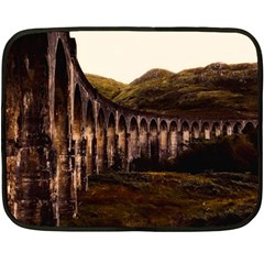 Viaduct Structure Landmark Historic Fleece Blanket (mini)
