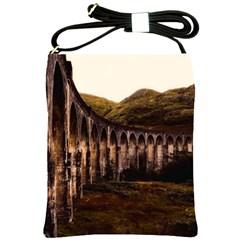 Viaduct Structure Landmark Historic Shoulder Sling Bags