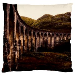 Viaduct Structure Landmark Historic Large Cushion Case (one Side)