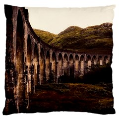 Viaduct Structure Landmark Historic Standard Flano Cushion Case (one Side)