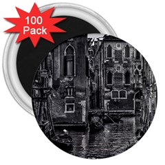 Venice Italy Gondola Boat Canal 3  Magnets (100 Pack)