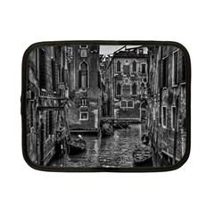 Venice Italy Gondola Boat Canal Netbook Case (small)