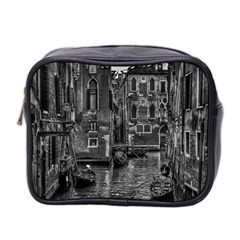 Venice Italy Gondola Boat Canal Mini Toiletries Bag 2 Side