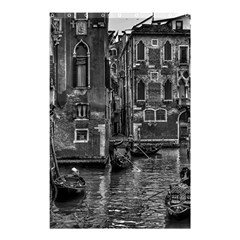 Venice Italy Gondola Boat Canal Shower Curtain 48  X 72  (small)