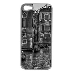 Venice Italy Gondola Boat Canal Apple Iphone 5 Case (silver)