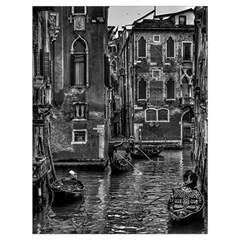 Venice Italy Gondola Boat Canal Drawstring Bag (large)