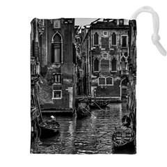 Venice Italy Gondola Boat Canal Drawstring Pouches (xxl)