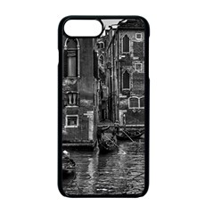Venice Italy Gondola Boat Canal Apple Iphone 7 Plus Seamless Case (black)