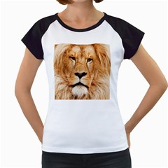 Africa African Animal Cat Close Up Women s Cap Sleeve T